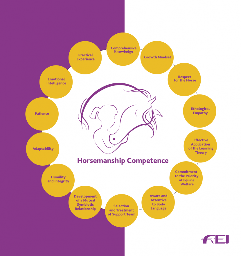 FEI Horsemanship Comptence- Short Version